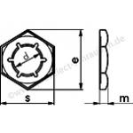 Sicherungsmuttern n. DIN 7967